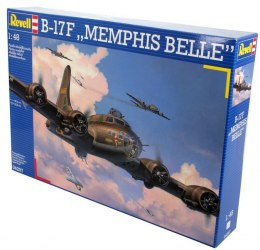 Model do sklejania REVELL B-17F Memphis Belle 1:48
