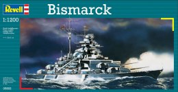 Model do sklejania REVELL Battleship Bismarck 1:1200