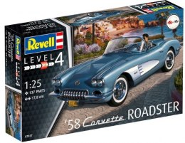 Model do sklejania REVELL Corvette Roadster 58
