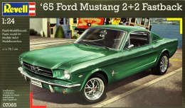 Model do sklejania REVELL Ford Mustang 1965 2+2 Fastback