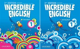 Incredible English 1 (2nd) KOMPLET OXFORD
