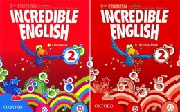 Incredible English 2 (2nd) KOMPLET OXFORD