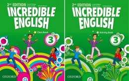 Incredible English 3 (2nd) KOMPLET OXFORD
