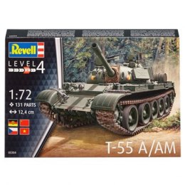 Model do sklejania Revell Czołg T-55 A/AM