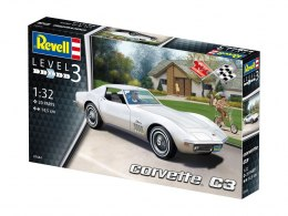 Model do sklejania Revell Corvette C3