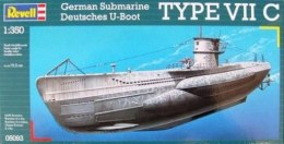 Model do sklejania Revell German Submarine TYPE VII C