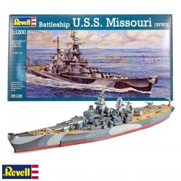 Model do sklejania Revell Battleship U.S.S. Missouri (WWII)