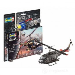 Model do sklejania Revell Bell UH-1H Gunship farby klej