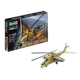 Model do sklejania REVELL Mil Mi-24D Hind