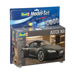 Model do sklejania Revell Audi R8 Black farby klej