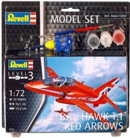 Model do sklejania REVELL BAe Hawk T.1 Red Arrows farby klej