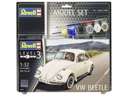 Model do sklejania Revell VW Beetle farby klej