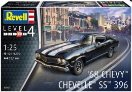 Model do sklejania Revell Chevy Chevelle SS 396 1968