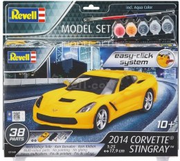 Model do składania Revell Corvette Stingray 2014