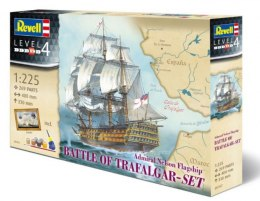 Model do sklejania Revell Battle Of Trafalgar Admiral Nelson Flagship - Gift Set