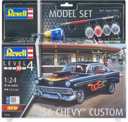 Model do sklejania Revell Chevy Customs 56 farby klej