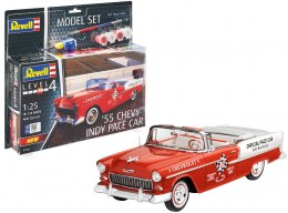 Model do sklejania Revell Chevy Indy Pace Car 55 farby klej