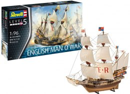 Model do sklejania Revell okręt English Man O'War