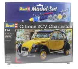Model do sklejania Revell Citroen 2CV CHARLESTON farby klej