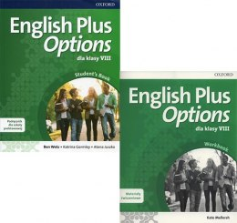 English Plus Options 8 KOMPLET + CD OXFORD Wieloletni